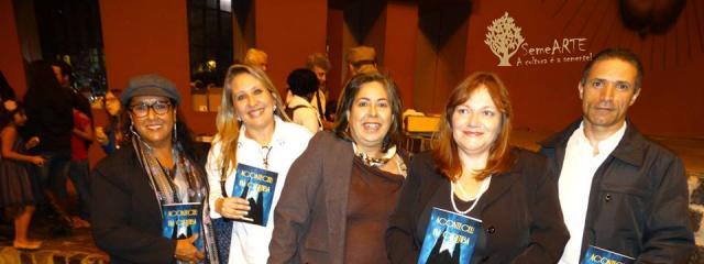 Rosalina C. Carvalho, Renata Montingelli, Arriete Rangel de Abreu e Vanice Ferreira.