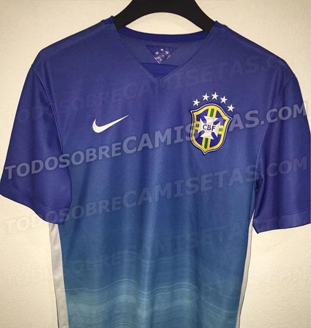 808ea1cedc Site divulga suposta camisa nova da seleção brasileira - Camisa ...
