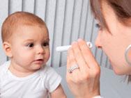 Metade dos beb�s n�o faz teste do olhinho