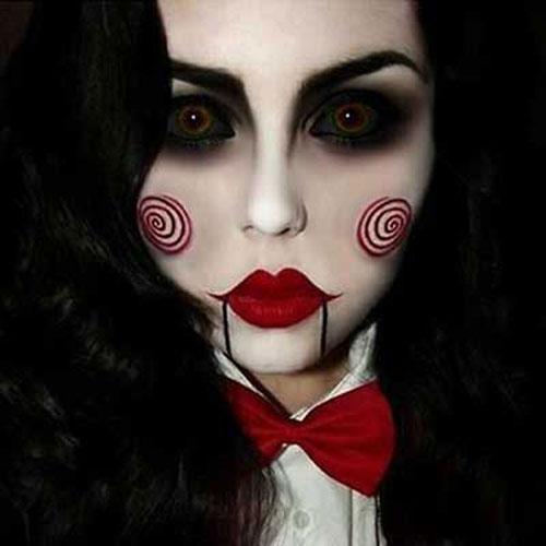 Resultado de imagem para maquiagens para halloween
