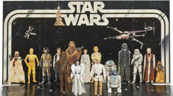 Brinquedos antigos de 'Star Wars' s�o vendidos por milhares de d�lares