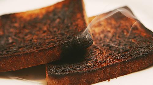 Resultado de imagem para Alimentos queimados