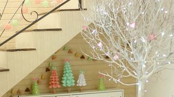 Tr�s tutoriais para fazer uma decora��o de Natal linda, econ�mica e sustent�vel
