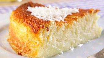 Prepare um bolo de queijadinha perfeito para o caf� da tarde