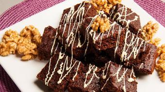 Aprenda fazer um brownie sem a��car, mas com muito sabor!