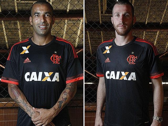 2e4c0d851a66a Divulgação Flamengo. A terceira camisa do Flamengo para 2016 é inteira preta  ...