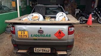 Homem é preso por revender botijões de carga roubada em Londrina