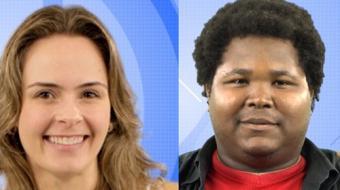 Ana Paula e Ronan participam de pared�o falso; o vencedor ganhar� imunidade