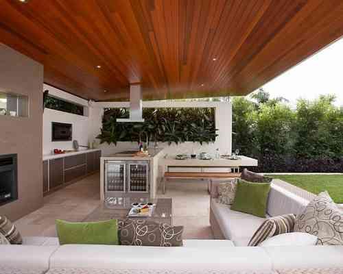 Confira projetos de cozinhas externas e inspire-se para ...