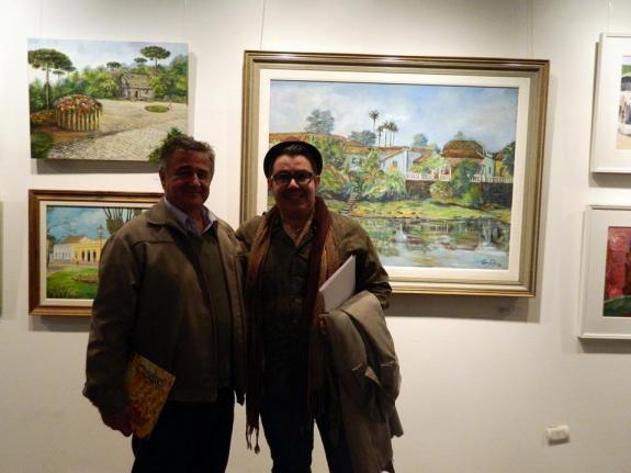 Osmar Carboni e Eloir Jr. -Foto de Eloir
