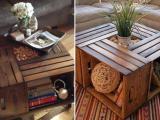 Mesa de centro com caixotes de feira � op��o linda para sua sala; veja como fazer