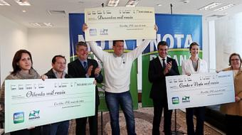 Empres�rio de Londrina ganha R$ 200 mil no programa Nota Paran�