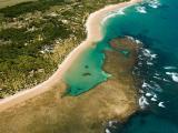 Floresta de brom�lias gigantes e praia de rio s�o atra��es da Pen�nsula de Mara�