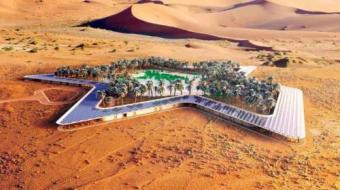 Resort 'mais verde do mundo' ser� constru�do em pleno deserto