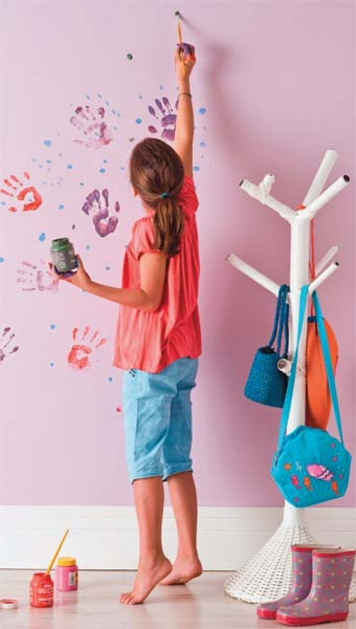 Dez ideias de pintura para alegrar o quarto dos pequenos for Pintura para paredes 2016