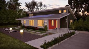 Casas pr�-fabricadas produzem a pr�pria energia e ficam prontas em poucos dias