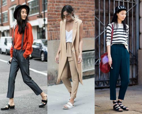 Inspirações lindas com calça de alfaiataria para dar uma folga ao jeans