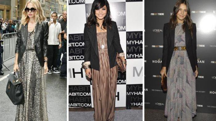 Vestido Longo é Aposta Fashion Para O Inverno Veja Como