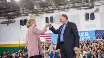 Hillary anuncia senador Tim Kaine como vice na chapa democrata para presid�ncia