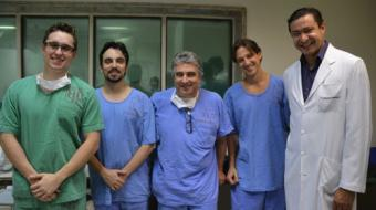 HU realiza cirurgia card�aca in�dita em paciente do SUS
