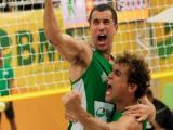 Gabriel e Giovane disputam contra patrocinador e treinador