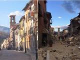 Hotel hist�rico desaba em Amatrice ap�s terremoto na It�lia