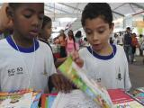 Alunos de CMEI da regi�o sul participam de Semana da Leitura
