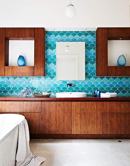 Azulejo 39 escama de peixe 39 nova tend ncia de decora o for Nova casa azulejos