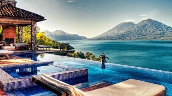 Guatemala: conhe�a o hotel que proporciona uma das melhores vistas do pa�s