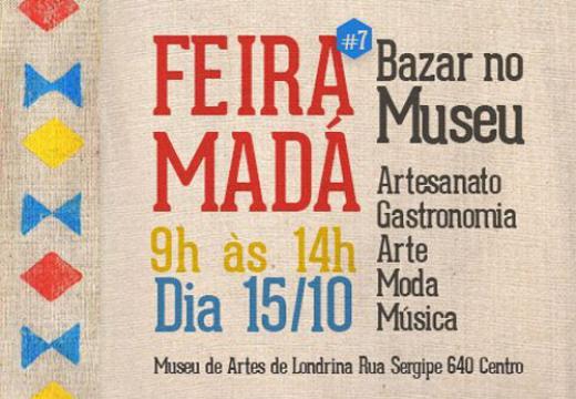 "Aparador Hermes Dicoro ~ Museu de Arte de Londrina sedia""Feira Madá"" Londrina , Casa Madá Entretenimento Bonde O"