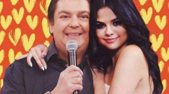 Faust�o comete gafe e manda beijo para 'Selena Gomez'