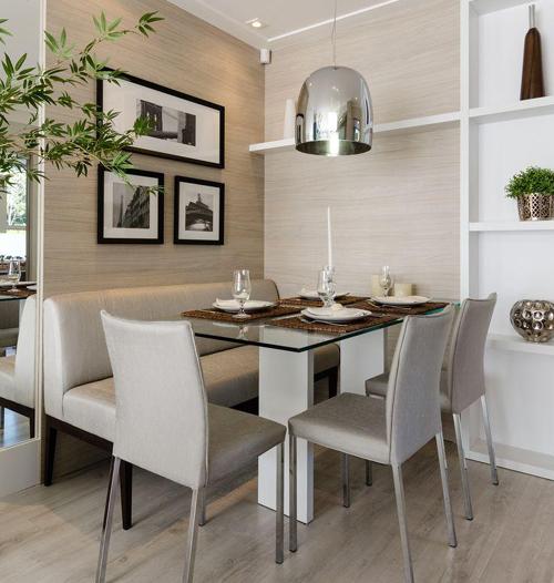 Apartamento Pequeno: 8 Ideias De Salas De Jantar Para Apartamentos Pequenos