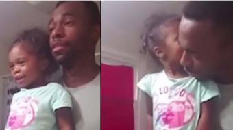 Pai incentiva filha com frases empoderadoras
