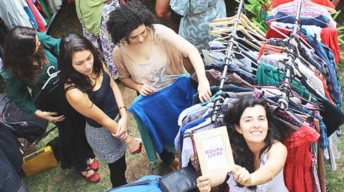 Projeto faz reflex�o sobre  moda sustent�vel