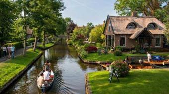 Conhe�a Giethoorn, a vila sem ruas da Holanda