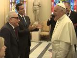 Papa se reúne com Martin Scorsese e fala sobre cinema