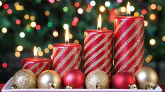 Inspire-se com incríveis ideias de velas decoradas para o Natal