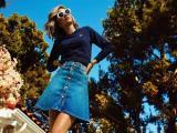 Miranda Kerr lança coleção em parceria com marca de jeans