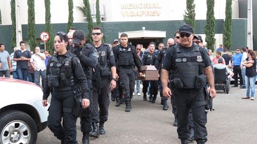 Reprodução/Site Jorge Zanoni - Thiago foi enterrado na cidade de Dracena (SP) na presença de familiares e amigos