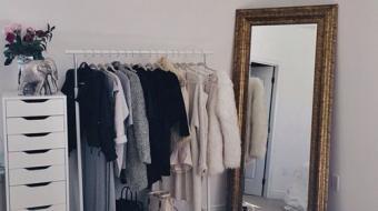 Como fazer das suas roupas parte da decoração