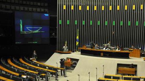Arquivo/Agência Brasil - Plenário da Câmara dos Deputados