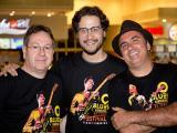 Em prévia do Festival de Blues, Acústico Blues Trio faz segunda apresentação