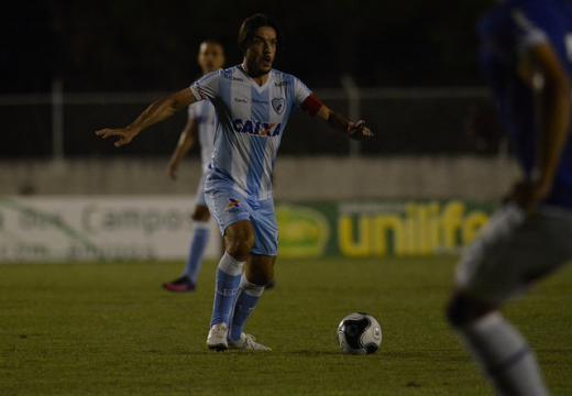 Gustavo Oliveira/Londrina Esporte Clube - Capitão Germano, em 2013, marcou o gol da vitória do LEC sobre o Paraná no Café
