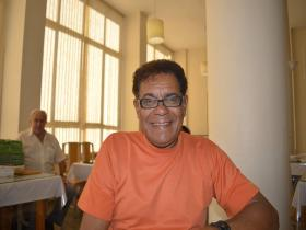 Geraldo Magela, diretor da Feira do Poeta de Curitba.