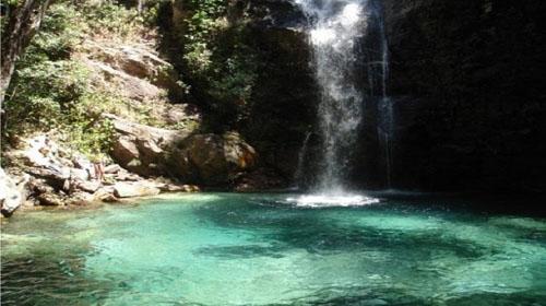 Divulgação/quilombokalunga.org.br - Cachoeira Santa Bárbara