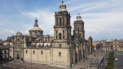 Divulgação/Pixabay - A Catedral Metropolitana da Cidade do México é uma das mais antigas catedrais católicas romanas do continente americano