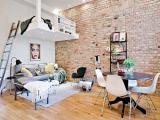 Confira o adorável apartamento de 32m² com decoração simples e elegante