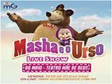 Sorteio de ingresso para o Espetáculo - Masha e o Urso
