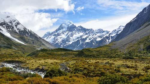 Divulgação/Pixabay - Monte Cook, a mais alta montanha da Nova Zelândia