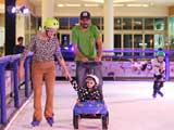 Shopping de Maringá inaugura pista de patinação no gelo